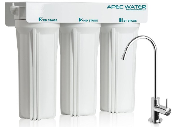 APEC WFS-1000 best under sink water filter for home